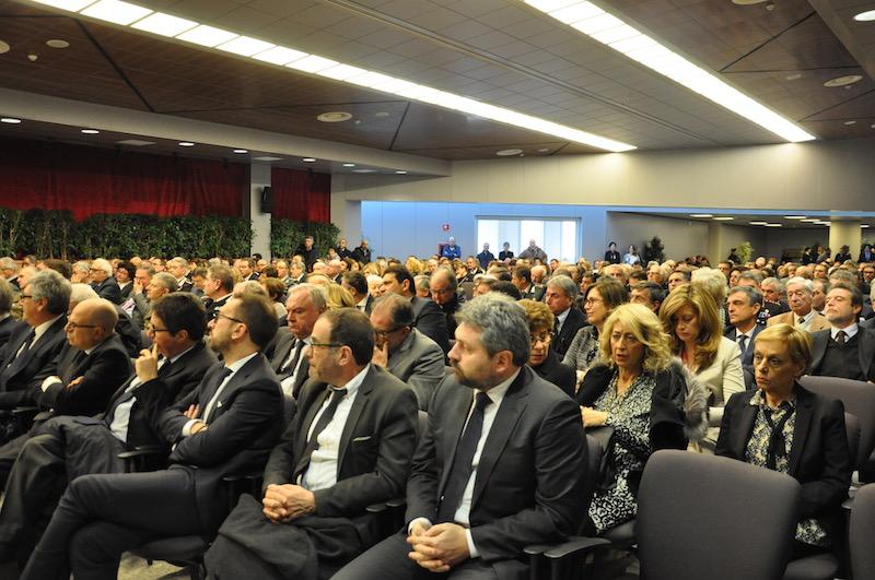La prima fila all'inagurazione dell'anno giudiziario 2017 a Firenze