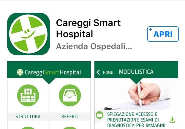 L'App Careggi Smart Hospital