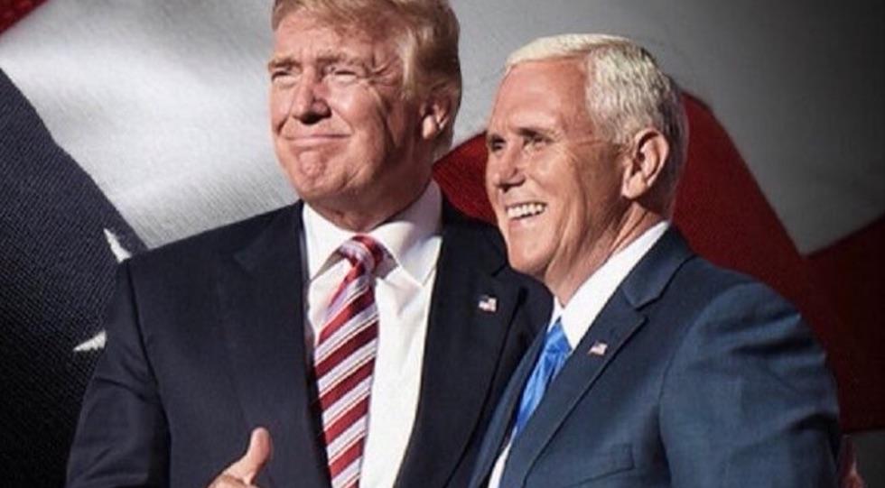 Donald Trump e Mike Pence dal 20 gennaio saranno presidente e vice presidente degli Stati Uniti