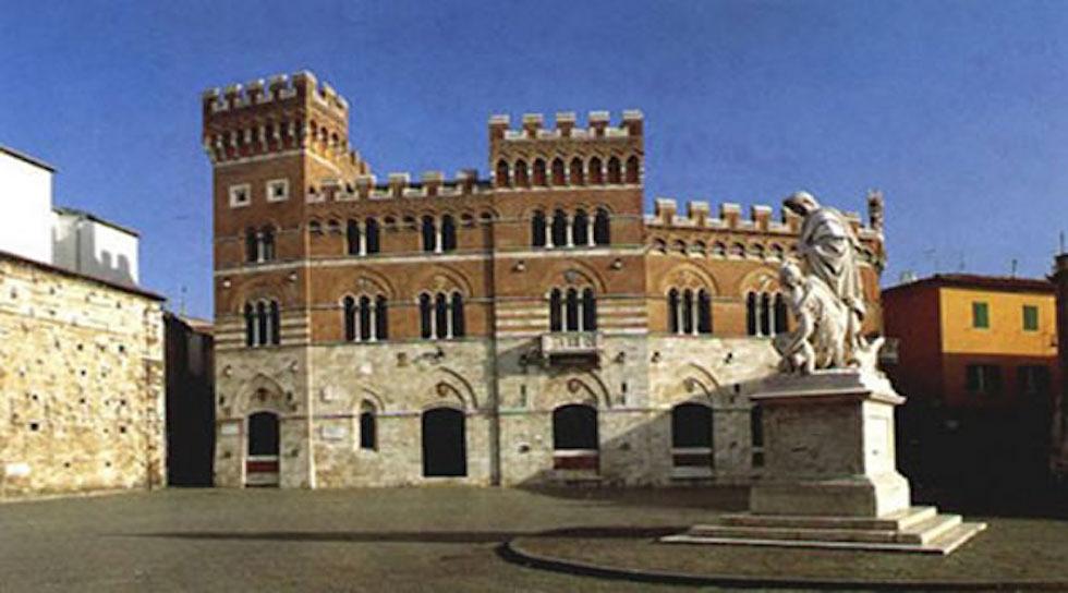 Il palazzo del Comune e della Provincia di Grosseto