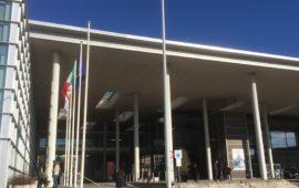 L'ingresso dell'Azienda Ospedaliero Universitaria di Careggi a Firenze