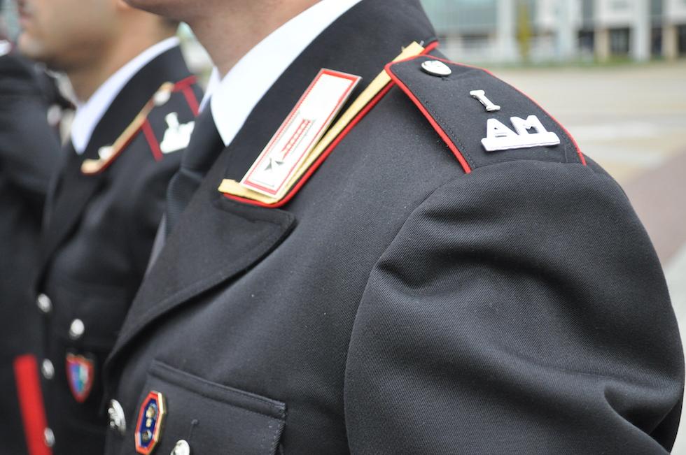 La mostrina di Allievo Maresciallo dei Carabinieri