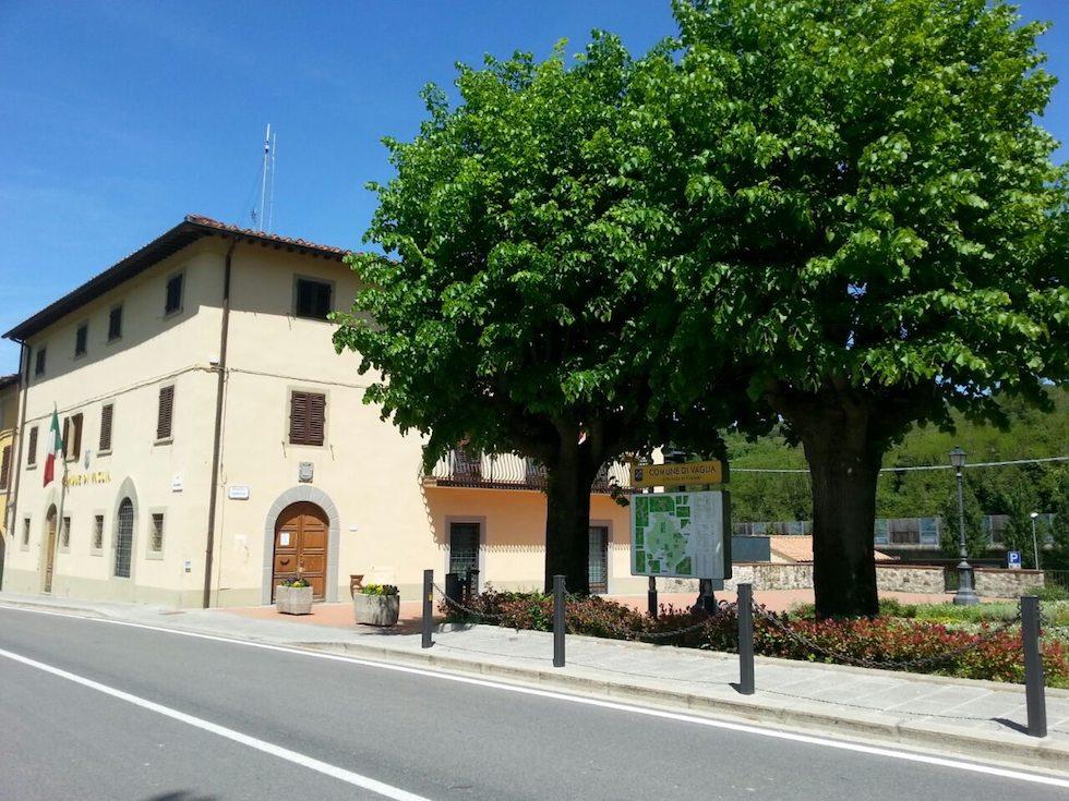 Il palazo comunale di Vaglia