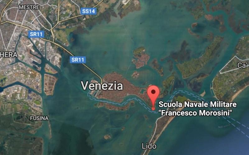 Dove è la Scuola Navale Militare Morosini a Venezia