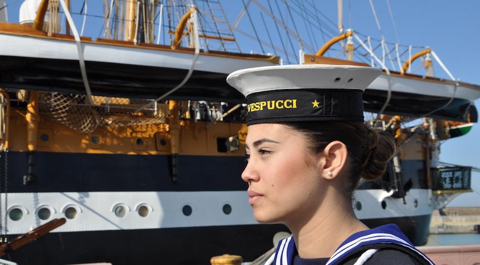 Nave Vespucci 2017 pronta a salpare per il Nord America
