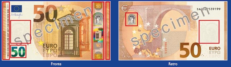 Banconota 50 euro new