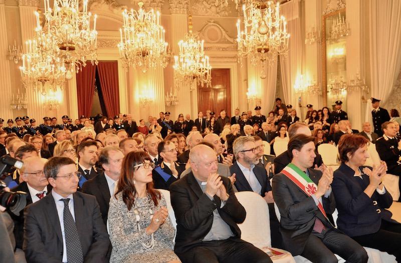 Festa della Polizia 2017 nella Sala Bianca di Palazzo Pitti