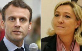 Emmanuel Macron e Marine Le Pen vincitori del 1° turno delle presidenziali francesi 2017