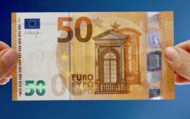 La nuova banconota da 50 Euro entra in circolazione il 4 aprile