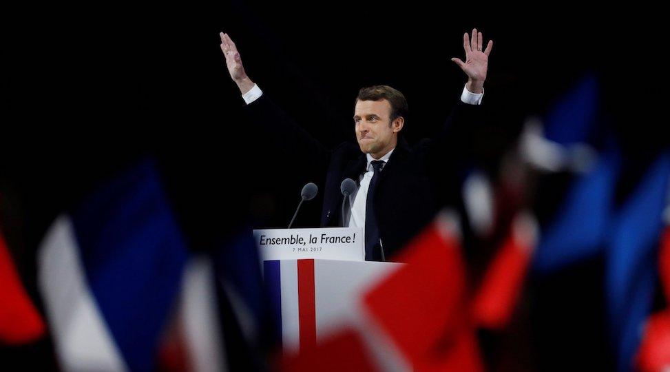 Emmanuel Macron vincitore delle elezioni presidenziali francesi 2017