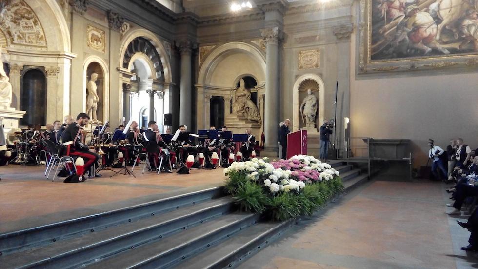 La cerimonia della premiazione dei Maestri del Lavoro 2017 a Firenze