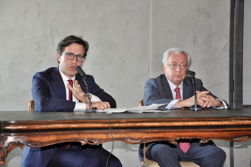 Dario Nardella e Cristiano Chiarot