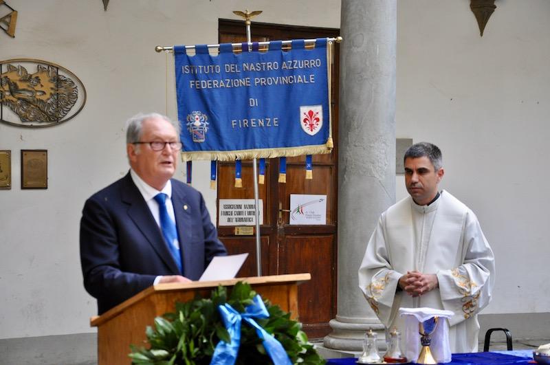 Il generale Bruno Stegagnini e don Antonino Pozzo