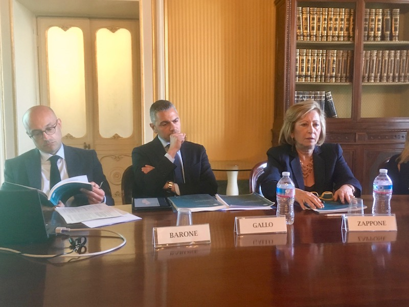 Luisa Zapponi alla riunione di Banca d'Italia