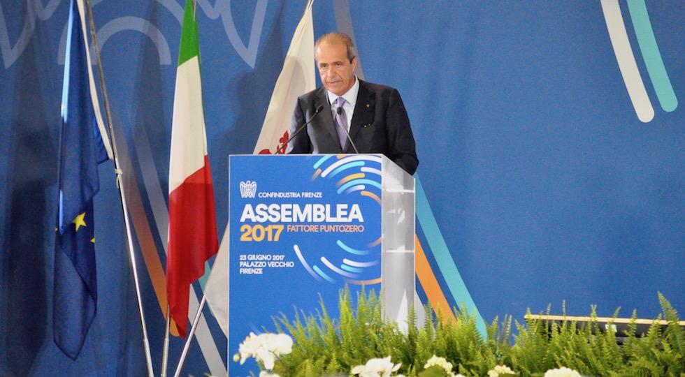 Il presidente di Confindustria Firenze Luigi Salvadori