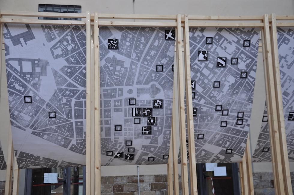 La mappa degli spazi residuali nel centro di Firenze