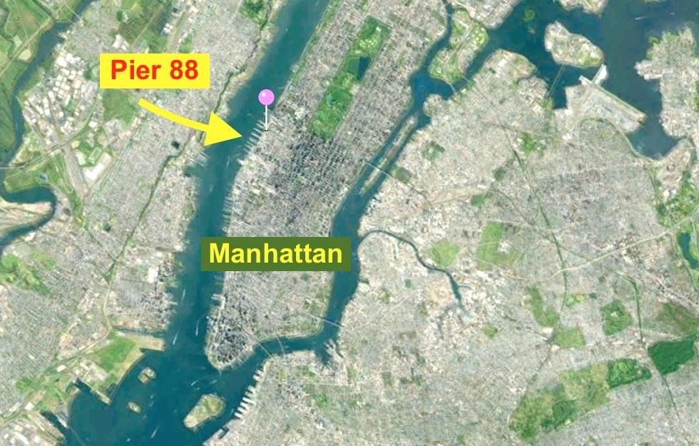 Dove sarà ormeggiata Nave Vespucci a New York