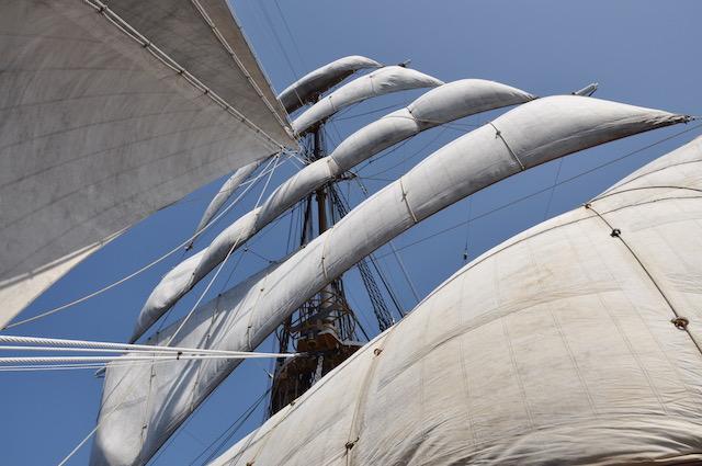 Vele al vento per Nave Vespucci tra le Azzorre e Cadice
