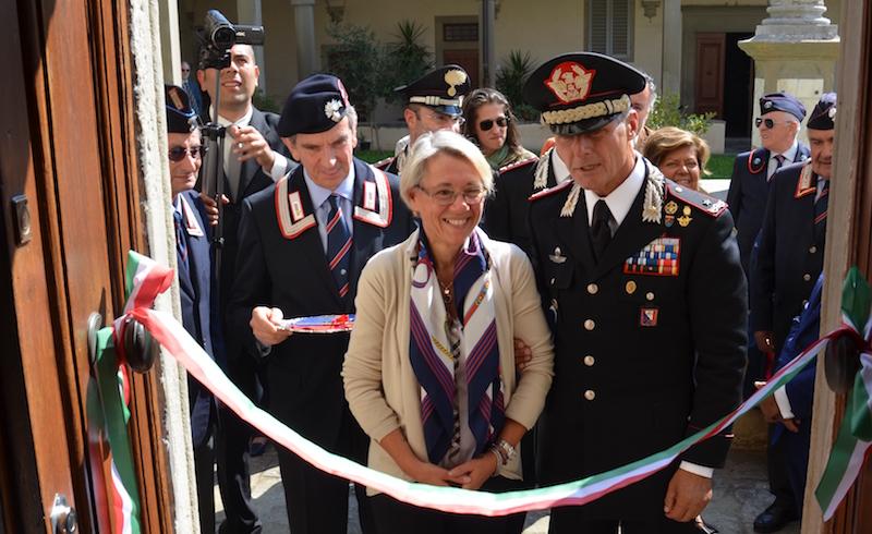 L'inaugurazione della nuova sede della sezione dell'Associazione Nazionale Carabinieri