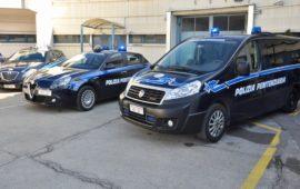 Automezzi della Polizia Penitenziaria alla Festa 2017 a Sollicciano