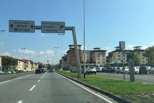 Il viale Guidoni non è più un viale