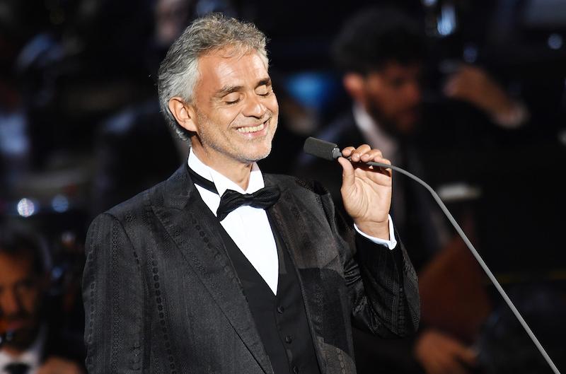 Annunciata la partecipazione speciale di Andrea Bocelli