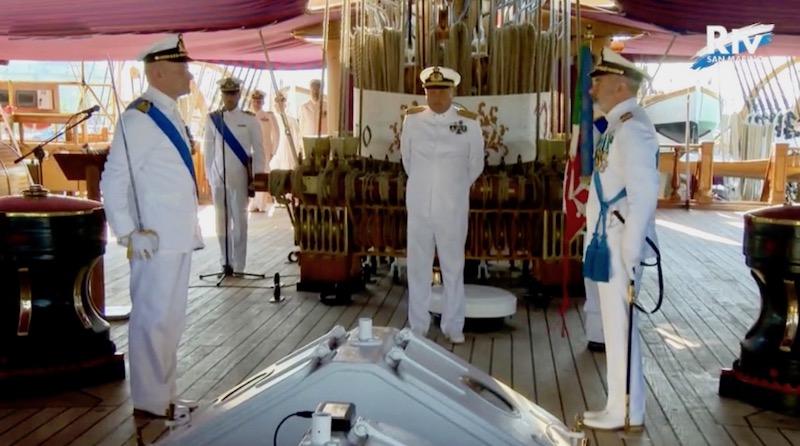 da sin comandante Recchia, ammiraglio Marzano, comandante Patruno