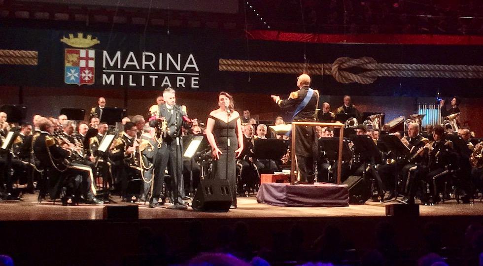 Il tenore Claudio Minardi e la soprano Monica De Propris