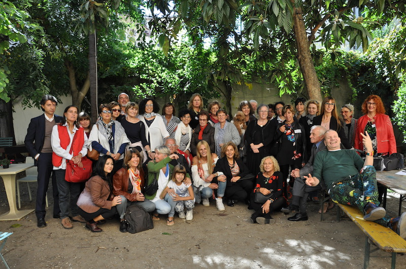 Il gruppo dei partecipanti al convegno di Firenze 2017