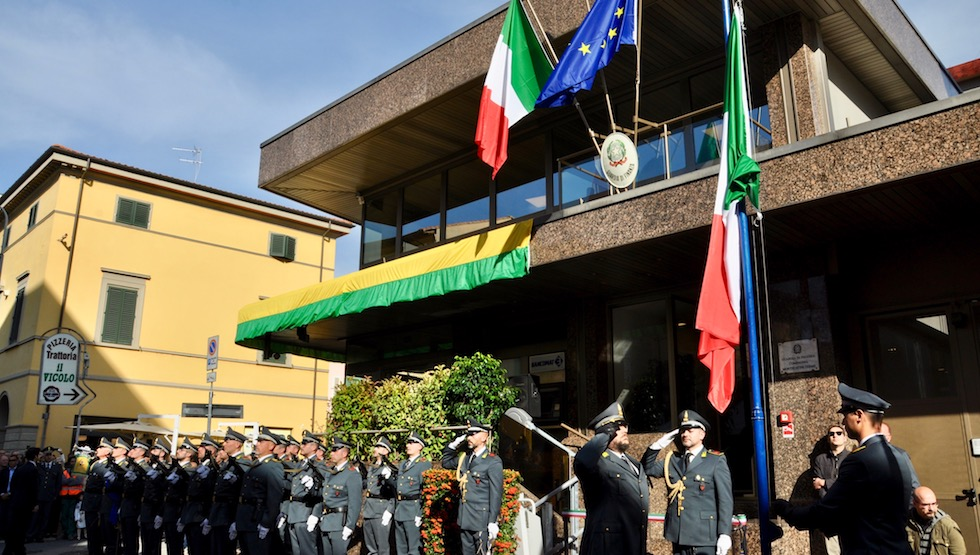 La nuova sede della Guardia di Finanza in Corso Roma a Montecatini Terme