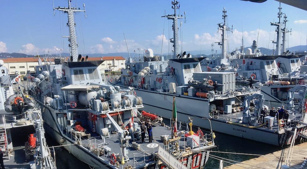 Unità cacciamine a La Spezia