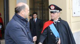 Il ministro degli Esteri Alfano e il generale Saltalamacchia