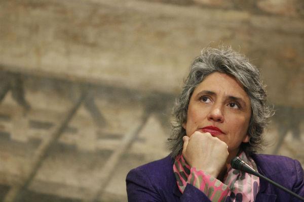 L'ex deputata Pd  Anna Paola Concia