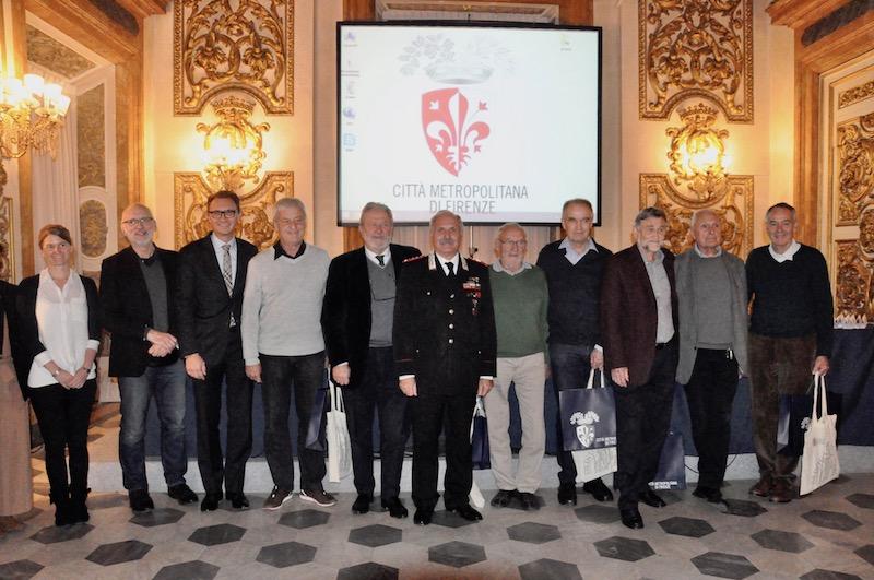 Il gruppo dei partecipanti al convegno di Firenze