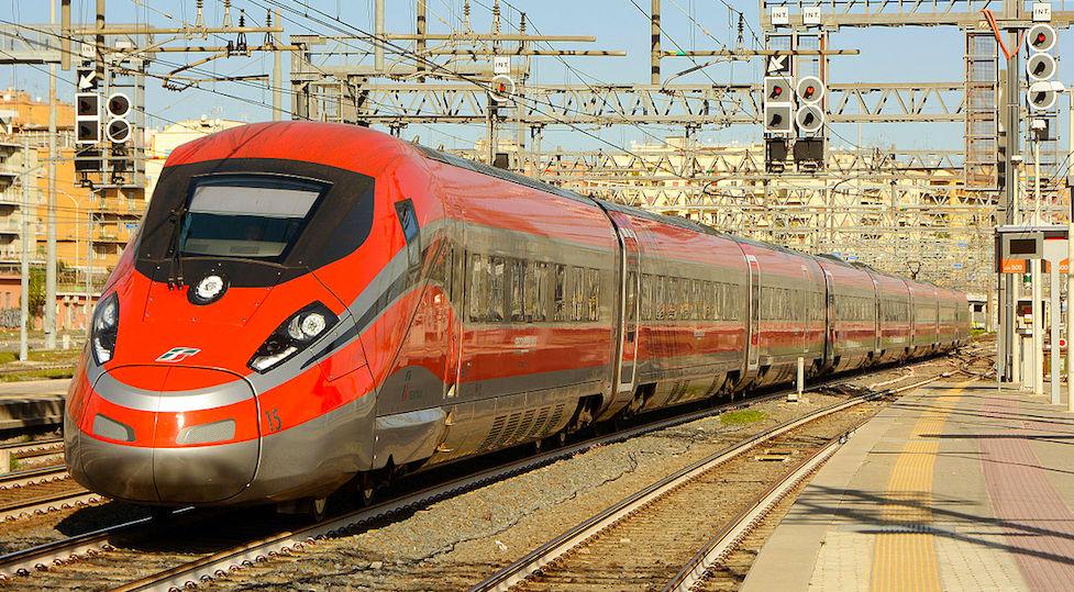 Un treno Frecciarossa 1000