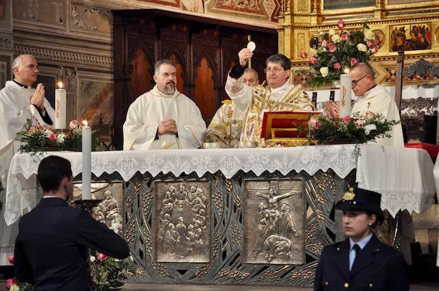 Il cardinale Betori alla celebrazione della patrona dell'Aeronautica