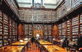 La Biblioteca Marucelliana di Firenze (foto da Facebook)