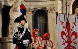 Lezione sulla lingua del diritto all'inaugurazione dell'anno accademico della Scuola Marescialli Carabinieri