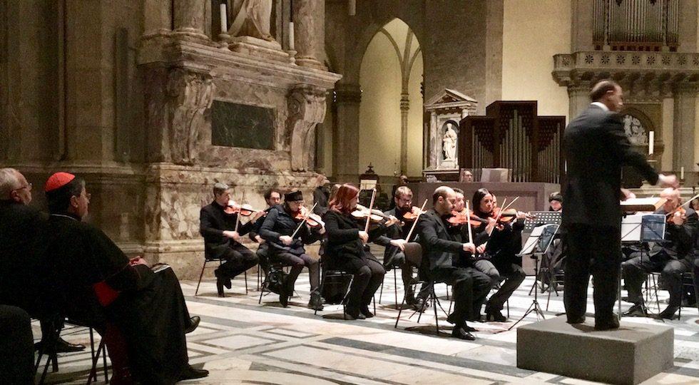 Firenze, tanta folla in Duomo al concerto del «nuovo» organo (Video)