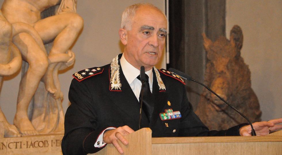 Il comandante generale dei Carabinieri Tullio Del Sette