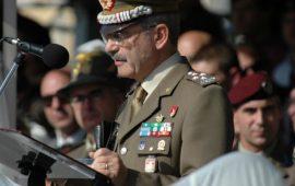 Il generale Castagnetti (foto CongedatiFolgore)