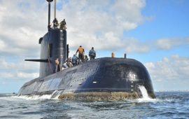 il sommergibile argentino Ara San Juan scomparso misteriosamente nell'Atlantico