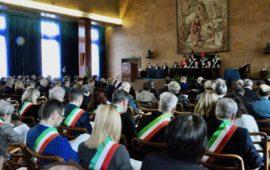 L'inaugurazione dell'anno giudiziario 2018 della Corte dei Conti della Toscana nell'aula magna dell'Isma a Firenze