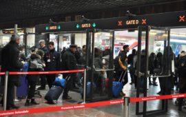 I nuovi varchi di accesso ai binari della stazione di Firenze SMN