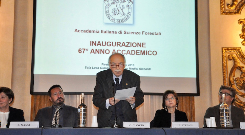 il professor Ciancio inaugura l'anno accademico 2018 di Aisf