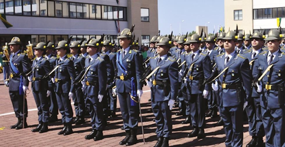 Allievi marescialli della Guardia di Finanza