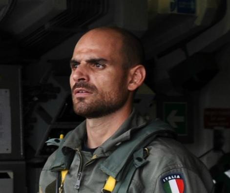 Il Capo di 1ª classe Andrea Fazio