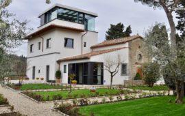 La villa sulla collina di Fiesole che ospita la sede del Fresco Parkinson Institute