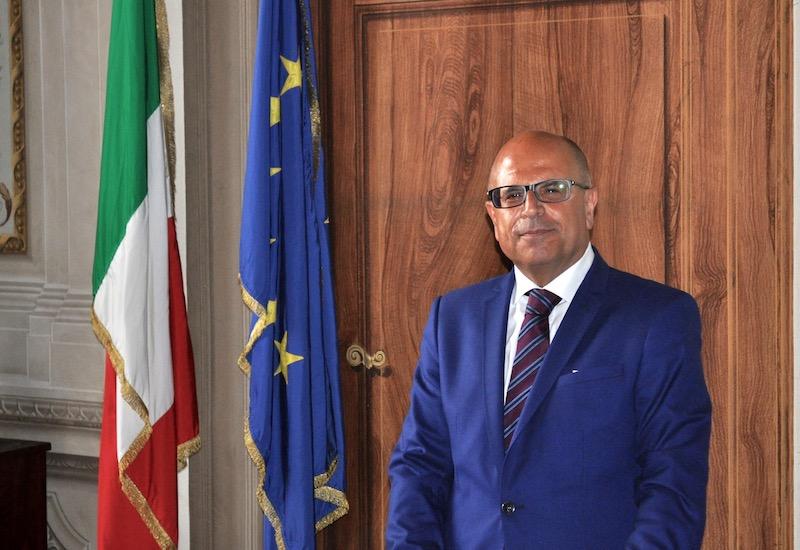 Il Prefetto Alessio Giuffrida il giorno del suo arrivo a Firenze il 29 giugno 2015
