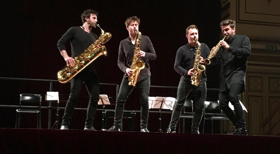 Il Signum Saxophone Quartet a Firenze